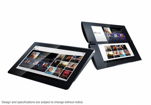 S1 and S2 Sony tablets