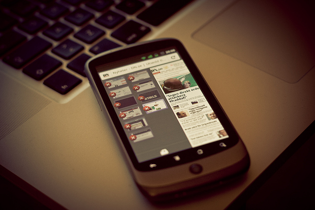 Firefox Mobile - photo by Johan Larsso