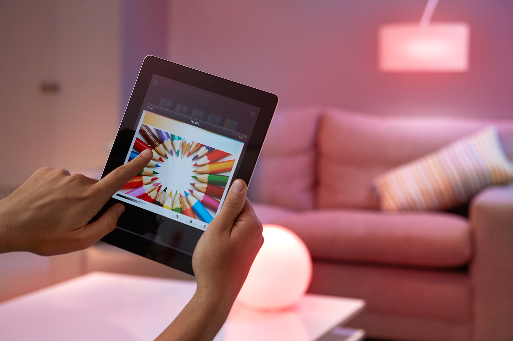 Philips Hue smart control - Image copyright Philips