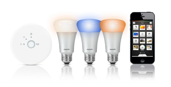 Philips Hue at Apple Store - Image Copyright Apple/Philips
