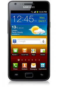 Samsung Galaxy S2 - Image copyright Samsung