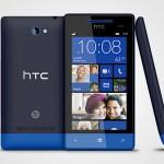 Windows Phone 8S Blue - Photo copyright HTC