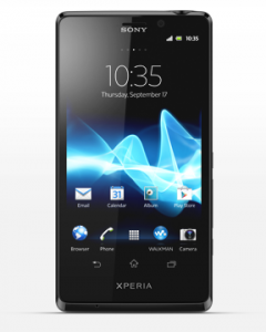 Xperia T - Image copyright Sony Mobile