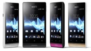 Xperia miro - Image copyright Sony Mobile